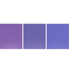 Graphical purple lavender gradient in halftone vector