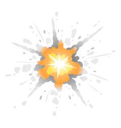 Radial bomb explosion vector