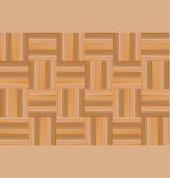 Wooden parquet texture seamless pattern vector