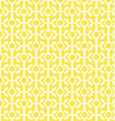 Yellow geometric patterns vector
