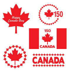 Canada day graphics vector
