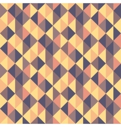 Seamless geometric triangles background Mosaic vector image