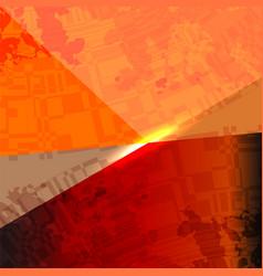 Orange camouflage background vector