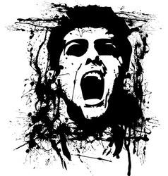 Zombie horror vector