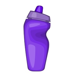 Sport bottle icon vector