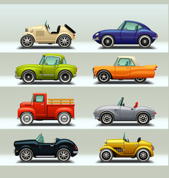 car icon set-8 vector image