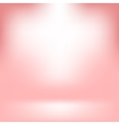 Empty studio light pink abstract background vector