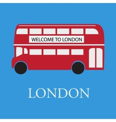 bus london vector image