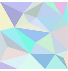 low-polygonal multicolor background vector image vector image