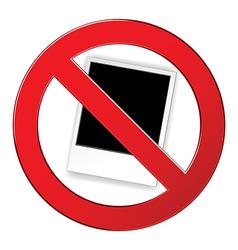 sign forbidden polar vector image