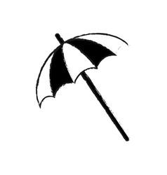 striped parasol icon image vector image vector image