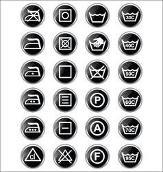 Washing sign vector image