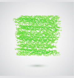 Abstract background with green pencil strokes vector