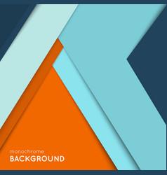 Geometric cover design vector