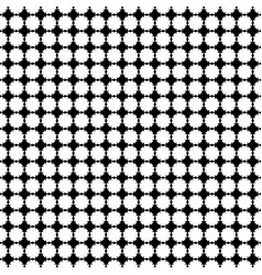 seamless pattern texture with flat floral vector image