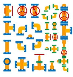 Set of pipeline elements vector