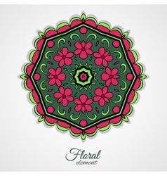 Floralornament vector
