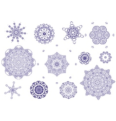arabesque tracery vector image