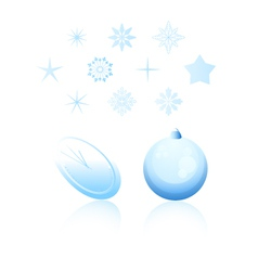 Christmas holiday design elements vector
