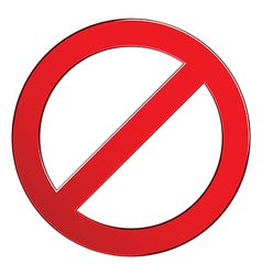 Sign forbidden empty vector