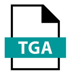 File name extension tga type vector