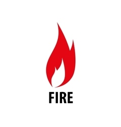 Fire logo vector