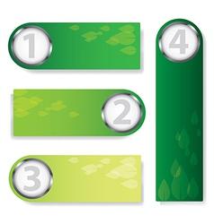 green text box vector image