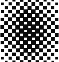 Repeating halftone square pattern design vector