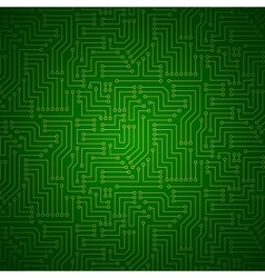 Shining printed circuit board vector