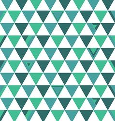 Korea Top Colors Background Triangle Polygon vector image vector image