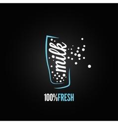 milk glass design background vector image vector image