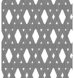 Seamlles pattern triangle vector