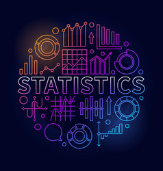 Round statistics vector