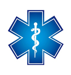 medical symbol vector image