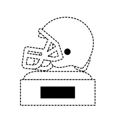 football trophy design vector image