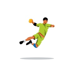Handball sign vector image
