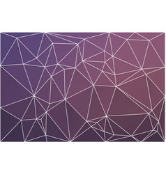 Purple blue pink geometric background with mesh vector