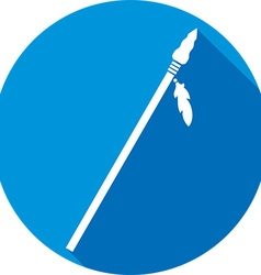 Spear icon vector