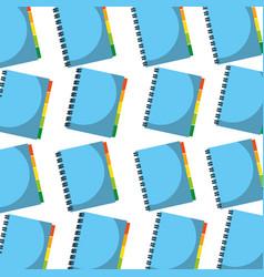 address book office book seamless pattern design vector image