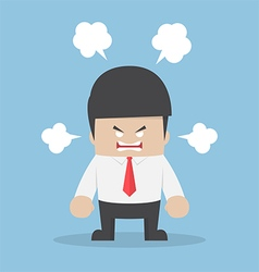 Angry businessman explode his emotion 380x400 vector