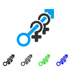 Harem flat icon vector