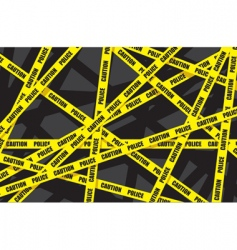 Police caution vector