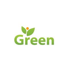green design template vector image