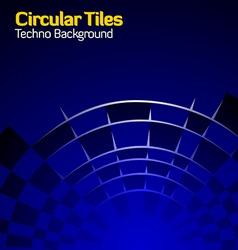 circlutiles vector image
