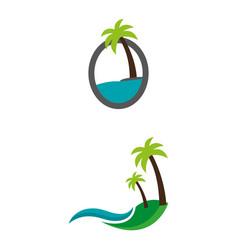 Islands vector