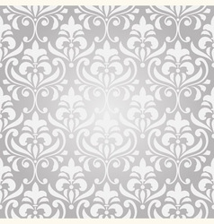 seamless vintage floral pattern on gradient backgr vector image vector image