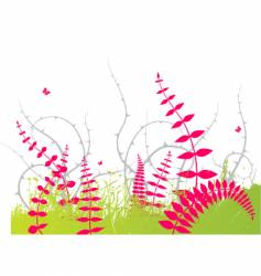 grass graphic vector image