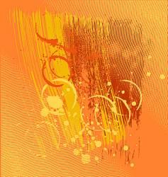 orange crush vector image