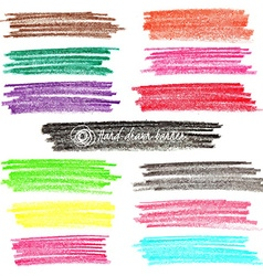 Set of colored doodle sketch banners vector