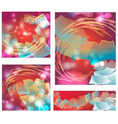 abstract background with books vector image vector image
